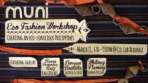MuniEco Fashion Workshop: Creating An Eco-Conscious PH
