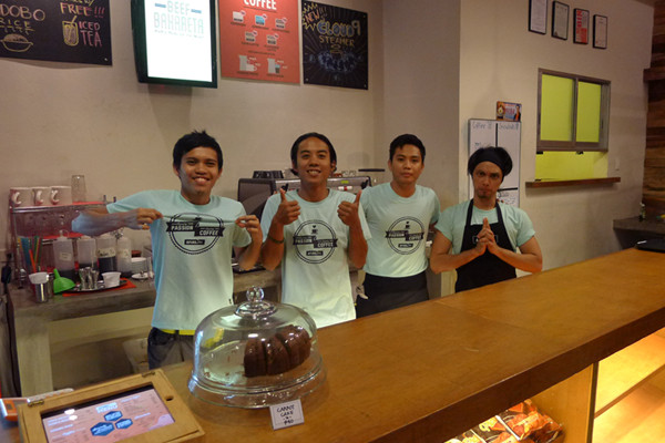 Chipper baristas and staff of Fuel.PH :)