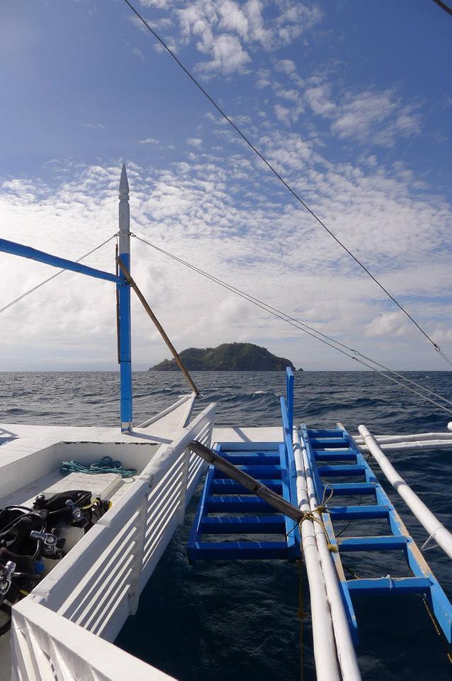 The view of Apo Island