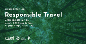 MUNI Meetup MNL: Responsible Travel on April 12