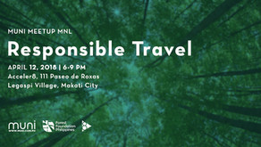 MUNI Meetup MNL: Responsible Travel on April 12