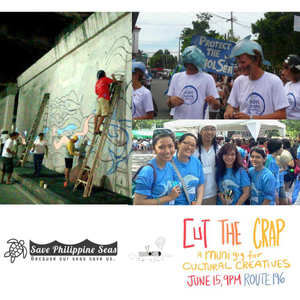 Save Philippine Seas with Muni's Cut The Crap