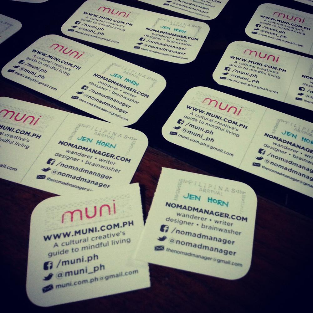 Muni x Nomad Manager calling card