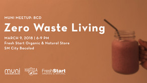 MUNI Meetup BCD: Zero Waste Living on March 9