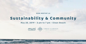 MUNI Meetup LU on Sustainability & Community on May 25, 2019