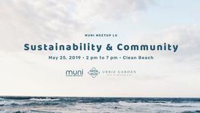 MUNI Meetup LU on Sustainability & Community on May 25, 2019