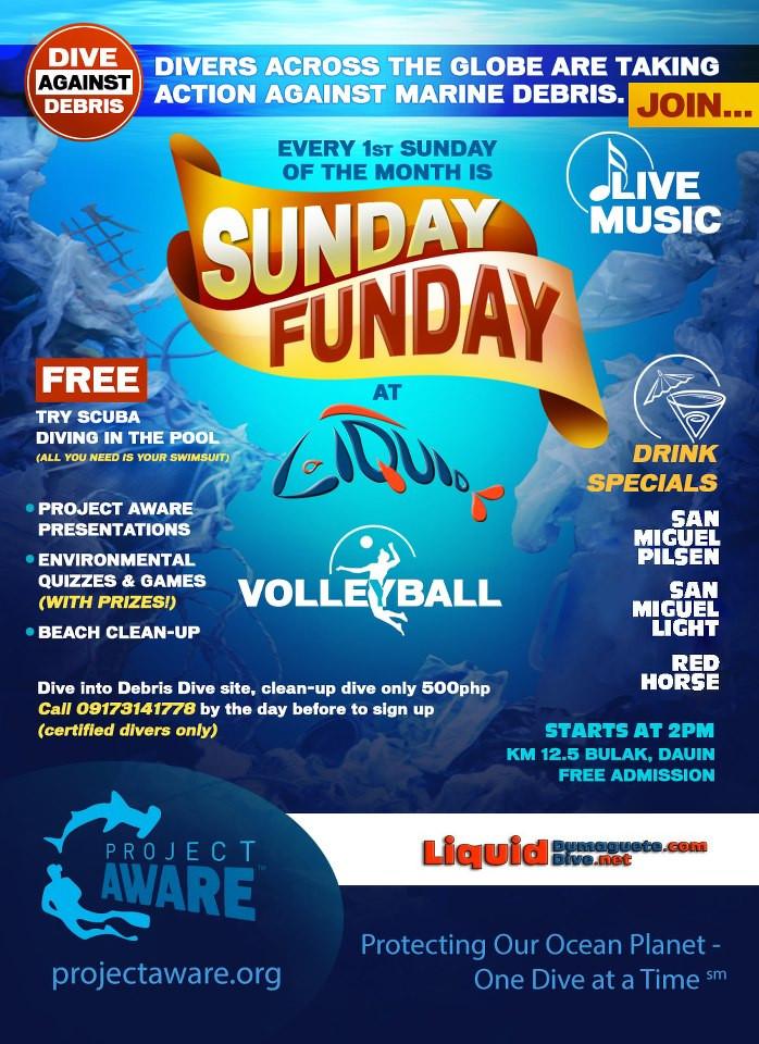 Sunday Funday at Liquid Dumaguete