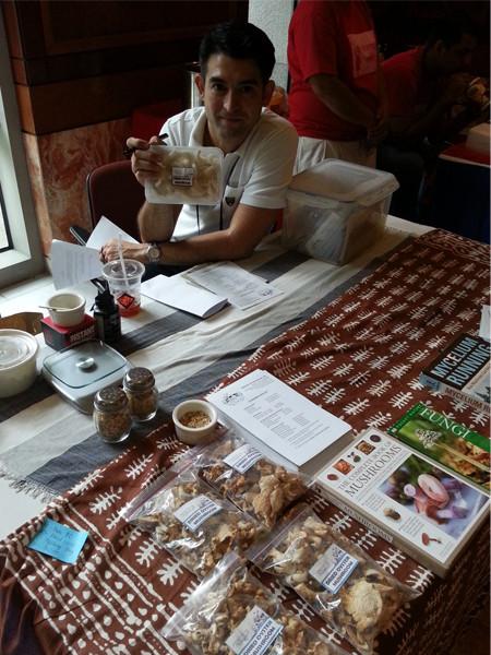 Marco Lobregat of Ministry of Mushrooms at ADB No Impact Week