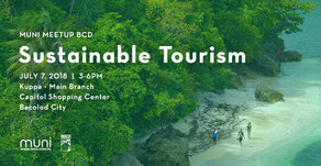 MUNI Meetup BCD on Sustainable Tourism on July 7, 2018