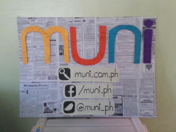 Muni PH upcycled non-tarp tarp