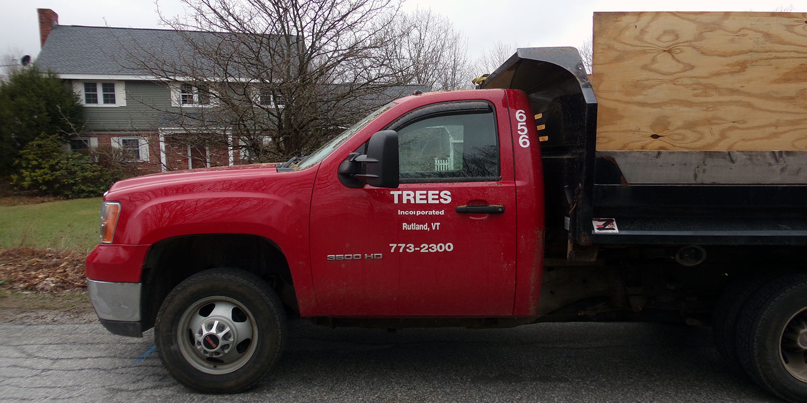 Trees Incorporated truck Rutland VT