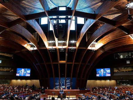 Летняя сессия 2019 в  Парламентской ассамблее Совета Европы
