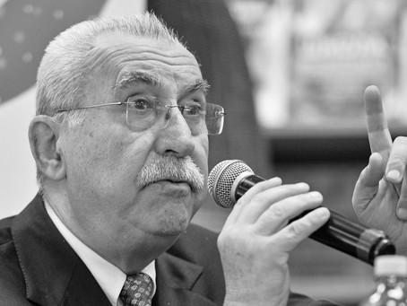 ITALIAN JOURNALIST AND POLITICIAN GIULIETTO CHIESA PASSED AWAY