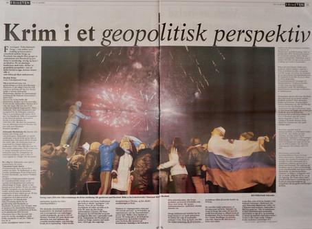 Crimea in a geopolitical perspective
