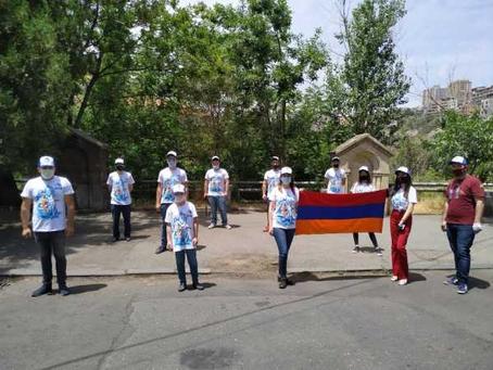 Армения присоединилась к международной акции субботников у памятников ВОВ