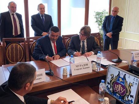 23 сентября в рамках Дней Армянской культуры в Крыму подписано соглашене о сотрудничестве