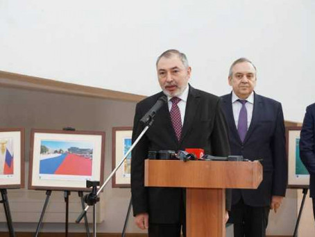 A.Babukhanyan congratulates Georgy Muradov on seven years of Crimea's reunification with Russia