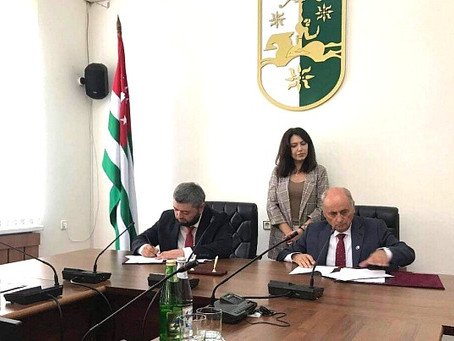 Friends of Crimea and  League of Friends of Abkhazia signed an agreement of cooperation.