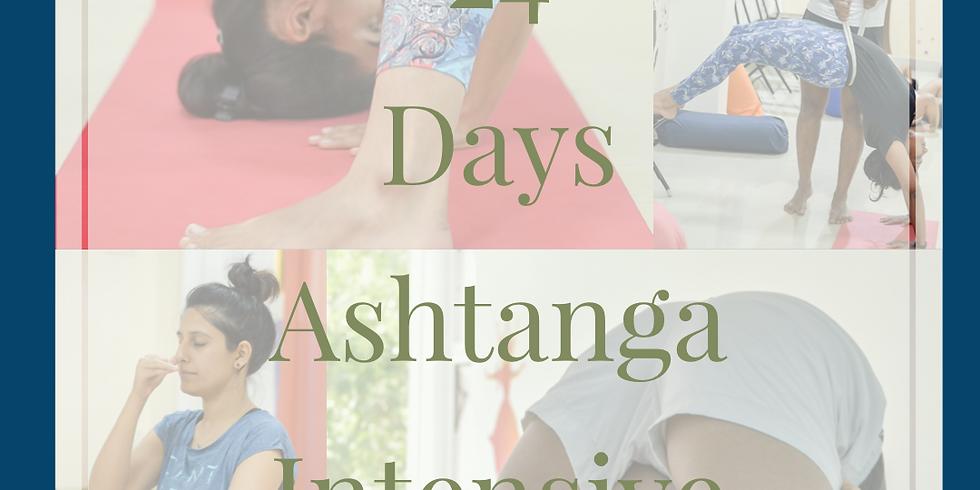 24 days asthanga intensive