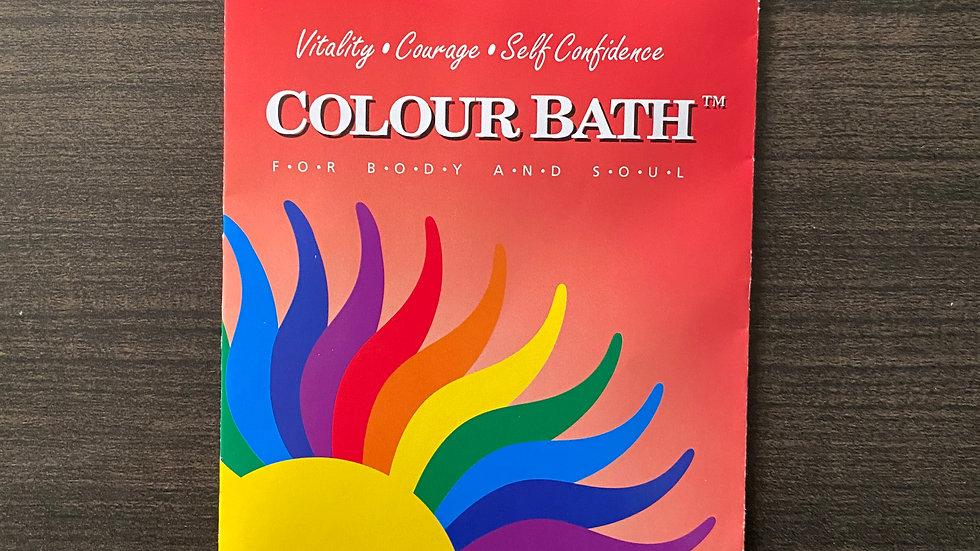 Red Colour Bath