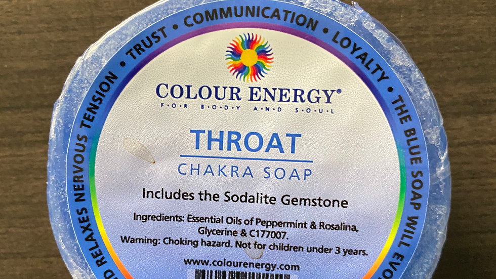 Throat Chakra Soap
