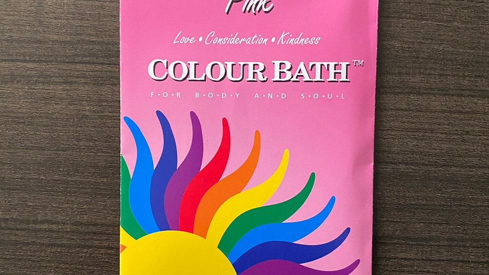 Pink Colour Bath