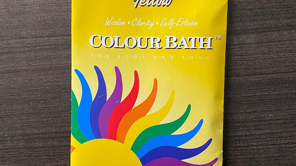 Yellow Colour Bath