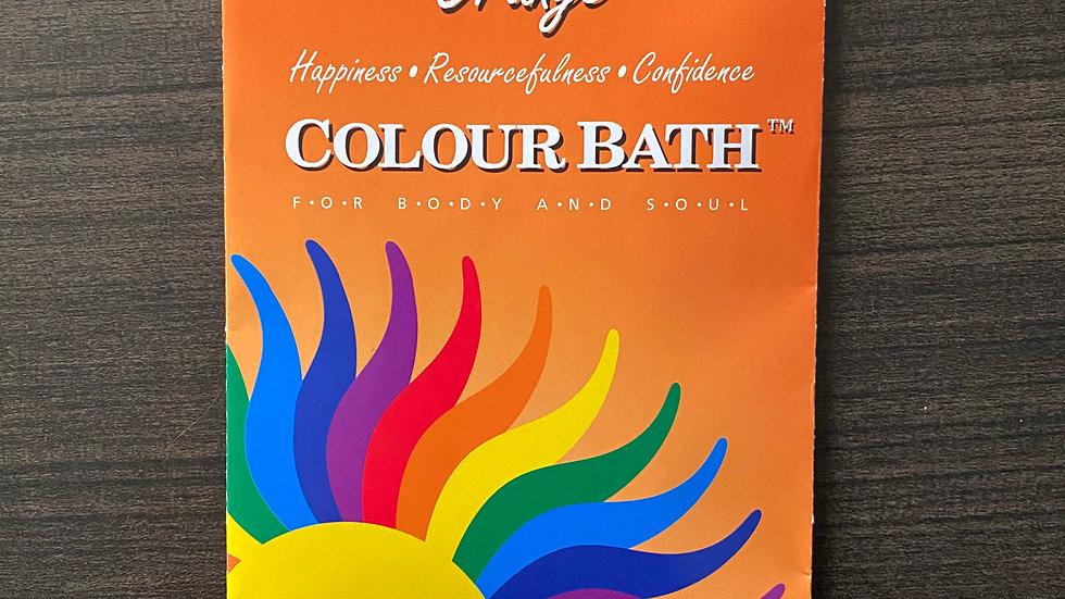 Orange Colour Bath