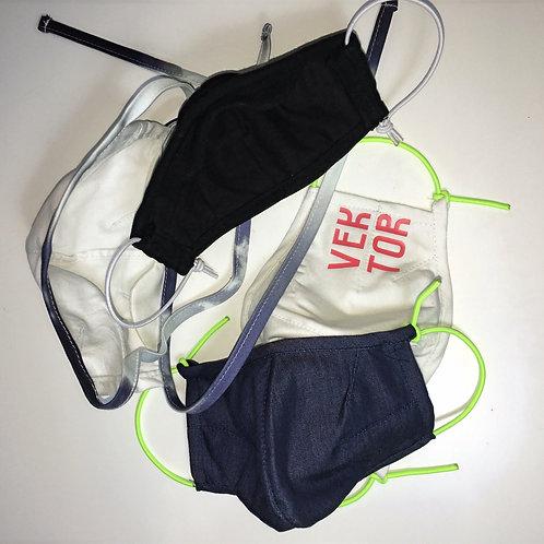 3er Pack ergonomische Gesichtsmaske