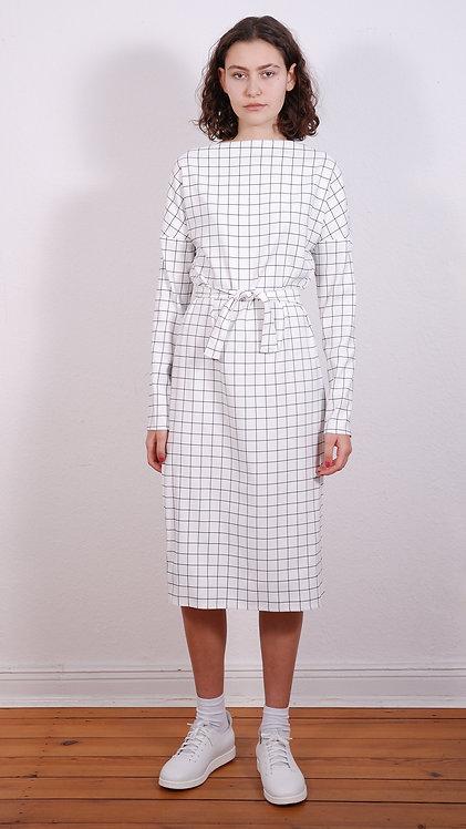 Midi-Kleid Diane B/W