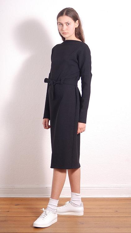 Midi-Kleid Diane schwarz