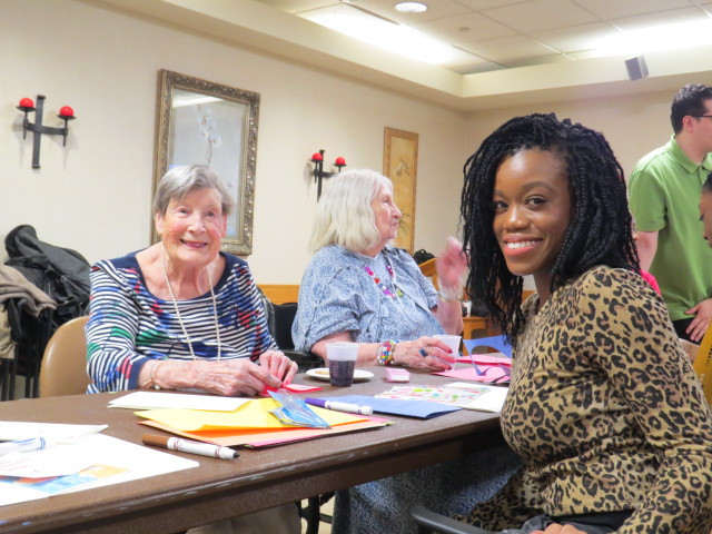 2019 UIU Tristate Volunteer Event: Jersey City Nursing Home Event