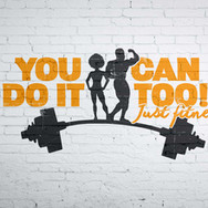 You Can Do It Too Fitness Logo