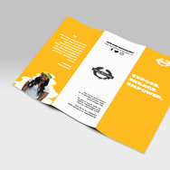 Brochure Design for AMG - Nonprofit division