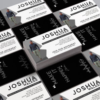 Joshua Walker Business Card Design