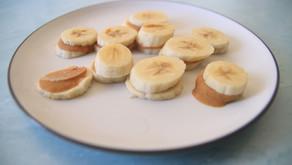 PB Banana Bites