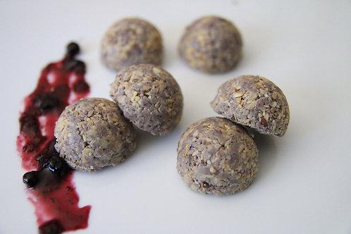 Blueberry Vanilla Protein Bites