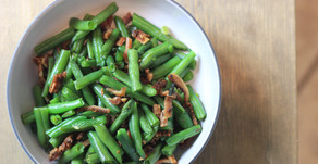 Garlicky Bacon Green Beans