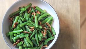 Garlicky Bacon Green Beans