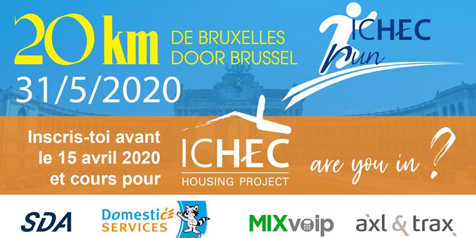 ICHEC Run 2020 - 20km de Bruxelles (1)