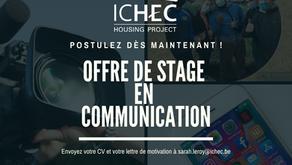 Offre de stage - Communication