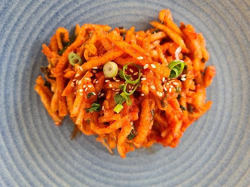 Radish Kimchi (무생채)