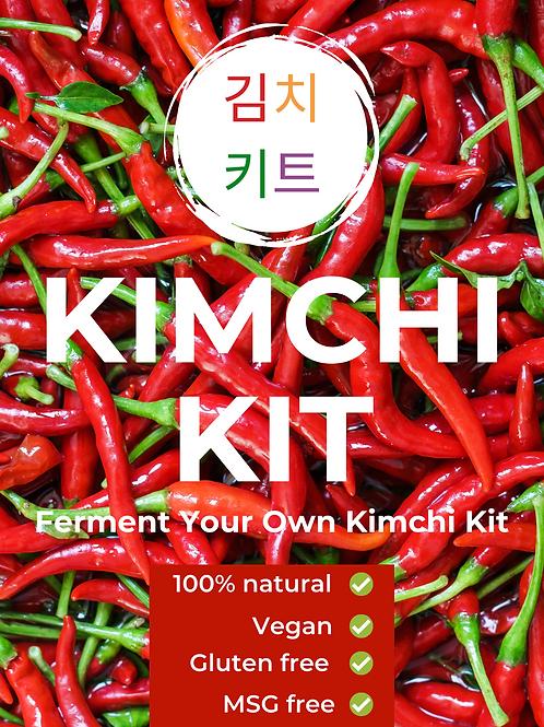 Vegan Kimchi Kit (1kg)