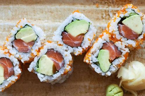 Salmon & Avocado Inside Out Roll(8pcs)