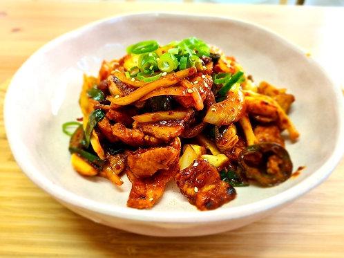 Gochujang Pork Belly for 2 (고추장 삼겹살 2인분)
