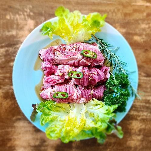 Deji Galbi (Soy marinated pork) for 2  (뼈없는 돼지갈비 2인분)