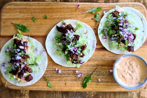 Chilli Pork Taco Kit (매콤 제육볶음)