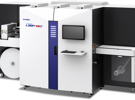 Screen launches label printer with CGS technology