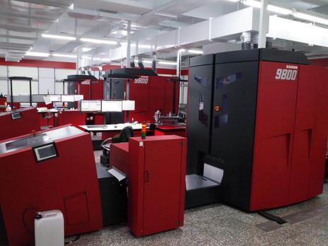 Taiwan's K-Lin installs Xeikon 9800s for digital book printing