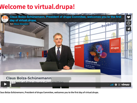 17,000 visitors attended day 1 of virtual.drupa